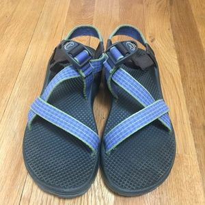 Womens Chacos Green/Blue Size 8